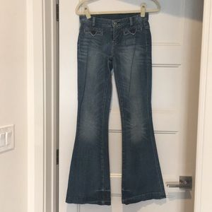 High waist distressed citizens of humanity jean
